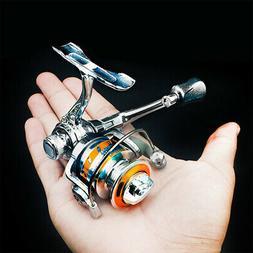 1+1BB Ultra Light Mini Metal Spinning Reel w/ Folding Rocker