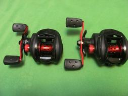 1) PAIR OF ABU GARCIA BLACKMAX3  LOW PROFILE RIGHT-HANDED BA