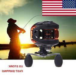 10+1BB Ball Bearings Right Hand Bait Casting Fishing Reel Hi