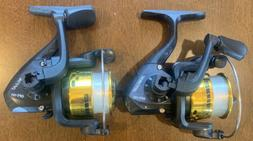 2 Pieces HT Optimax 101 Gold Reel Ice Fishing Ultralight Cra