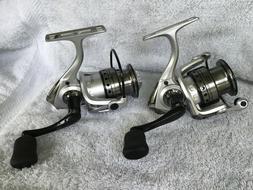 🔥 2 Abu Garcia® Silver Max 30 Spinning Fishing Reels SMA