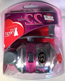 Zebco 22 Lady Spincast Reel Convertible - Pink - Perfect Mot