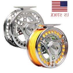3/4 5/6 7/8 9/10WT Fly Fishing Reel CNC Machined Fly Reel wi