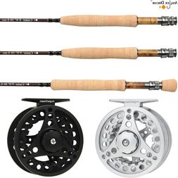 3/5/8WT Fly Rod and Reel Combo 8.3/9FT Medium-fast Carbon Fi