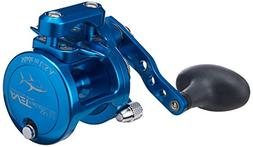 AVET 5.3:1 Lever Drag Conventional Reel, Blue