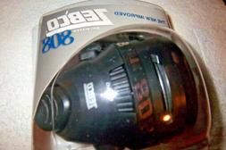 Zebco 808 Spincast Reel 20Lbs Line Black Face