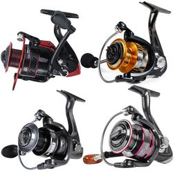 All Models Powerful Spinning Fishing Reels Metal Body Left/R
