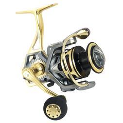 Aluminum Alloy Fishing Reel 20KG Max Drag 5.2:1 2500 Spinnin