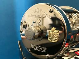 ABU GARCIA AMBASSADEUR 6500 CS CHROME ROCKET NEW MINT IN BOX