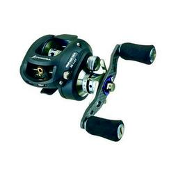 Ardent Apex Elite Bait Casting Reel, Right Hand, Black