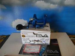 AVET MXL 5.8 BLUE RIGHT HAND LEVER DRAG  FISHING  REEL-NEW I