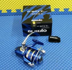 Okuma AZORES Blue Saltwater Spinning Reel  AZORES Z-6000H-BL