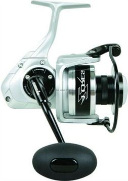 Azores Spinning Reel, 6BB + 1RB, 5.4:1 Ratio, Alum Spool, Mo