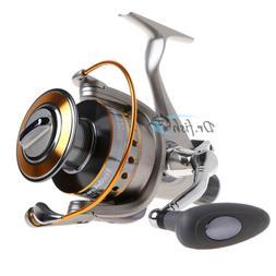 DRFISH Spinning Reel Baitfeeder, 2 Spools,11BB, Saltwater Sp