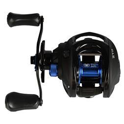 CastPlay Bass Fishing Reels Baitcasting Carbon Fiber Reel wi