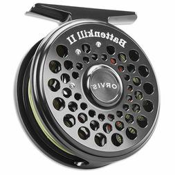 Orvis Battenkill Fly Reels - Reel Black Nickel - Sizes I-III