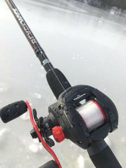 Abu Garcia BlackMax Baitcasting Combo, 7' Medium Heavy, 6.4: