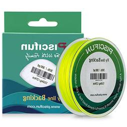 Piscifun Braided Fly Fishing Backing Line 20LB 100yds Fluore