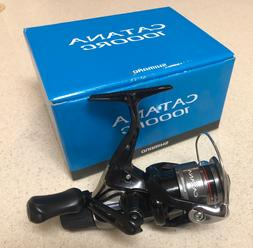 SHIMANO Catana 1000 RC Rear Drag Spinning Reel Brand New Box
