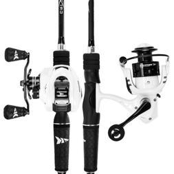 KastKing Crixus Spin & Cast Fishing Rod & Reel Combo  US