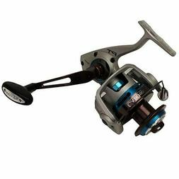 Quantum CSP50PTSE Cabo Spin Saltwater Reel, Blue and Silver