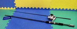 Daiwa D-Shock 2-Piece Spinning Combo 6'6 - DSK25-2B/F662M