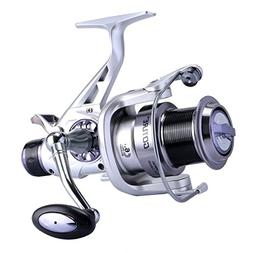 Goture Dual Drag Spinning Fishing Reel with Aluminum Spool 5