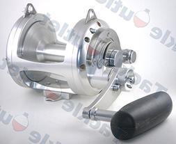 AVET 3-Speed EX30 Wide H4:1 M2:1 L1:1 Lever Drag, Silver