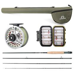 Maxcatch Explorer Fly Fishing Combo Kit 3/5/8 weight Fly Rod