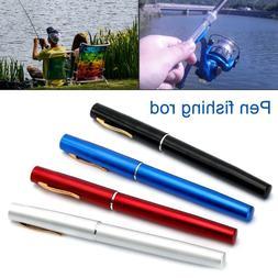 Fish Rod Pen Fishing Rod Mini Portable Pocket Pen Shape Fish