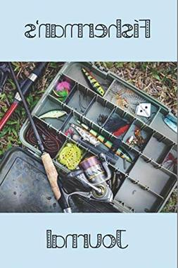 "Fisherman's Journal: 6"" x 9"" College Ruled Blank Fishing Not"