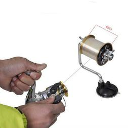 Fishing Line Fishing Reel Spool Spooler System Tackle Tool F