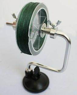Fishing Line Reel Spool Spooler System Tackle Accessory Silv