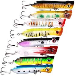 Sougayilang Fishing Lures Topwater Pencil Popper Casting Tro