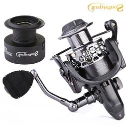 Fishing Reel 13+1BB Light Weight Ultra Smooth Aluminum Spinn