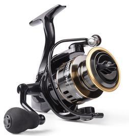 Fishing Reel HE-Series Metal 12 Ball Bearing 22lb Max Drag.