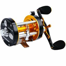 Sougayilang Fishing Reels Round Bait casting Reel Convention