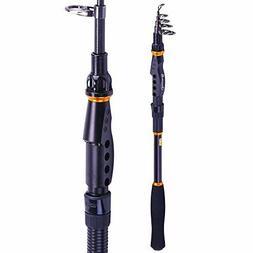 Sougayilang Fishing Rod - 24 Ton Carbon Fiber, Portable Tele
