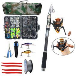Fishing Rod and Reel Combo Spinning Rod Saltwater Fishing Lu