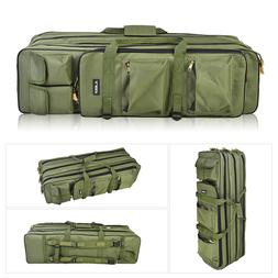 Fishing Rod Bag Case Tackle Holdall Fits 3 Fishing Rods with
