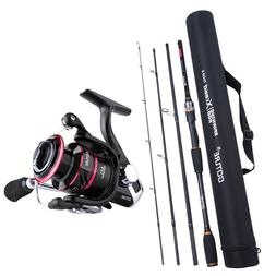 Goture Fishing Rod Combo Spinning Rod 2.1M-3M Spinning Reel