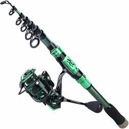 Sougayilang Fishing Rod Reel Combos,24Ton Carbon Fibre,Porta