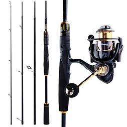 Sougayilang Fishing Rod and Reel Combos, Ultra Light 36 Ton
