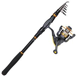 Goture Fishing Rod and Reel Combos Telescopic Fishing Pole w