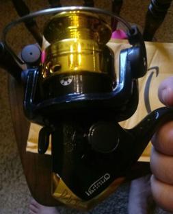 Qunhai Fishing Spinning Reel Gold Open Face Ultra Light Trou
