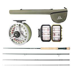 M MAXIMUMCATCH Maxcatch Extreme Fly Fishing Combo Kit 8 Weig