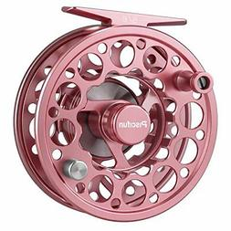 fly fishing reel with cnc machined aluminum