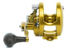 Avet HXJ 5/2 Two-Speed Lever Drag Casting Reel HXJ5/2 - GOLD