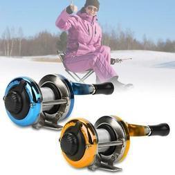 Ice Fishing Reel Fly Reels Mini Portable Smooth Winter Raft