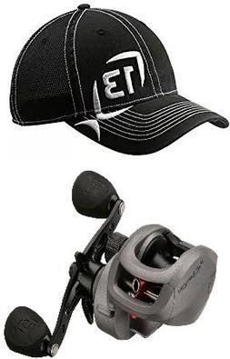 13 Fishing Inception 8.1:1 Gear Ratio Fishing Reel, Left Hat